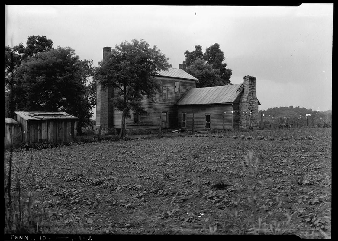 Historic American Buildings Survey (HABS) photo taken circa 1934.