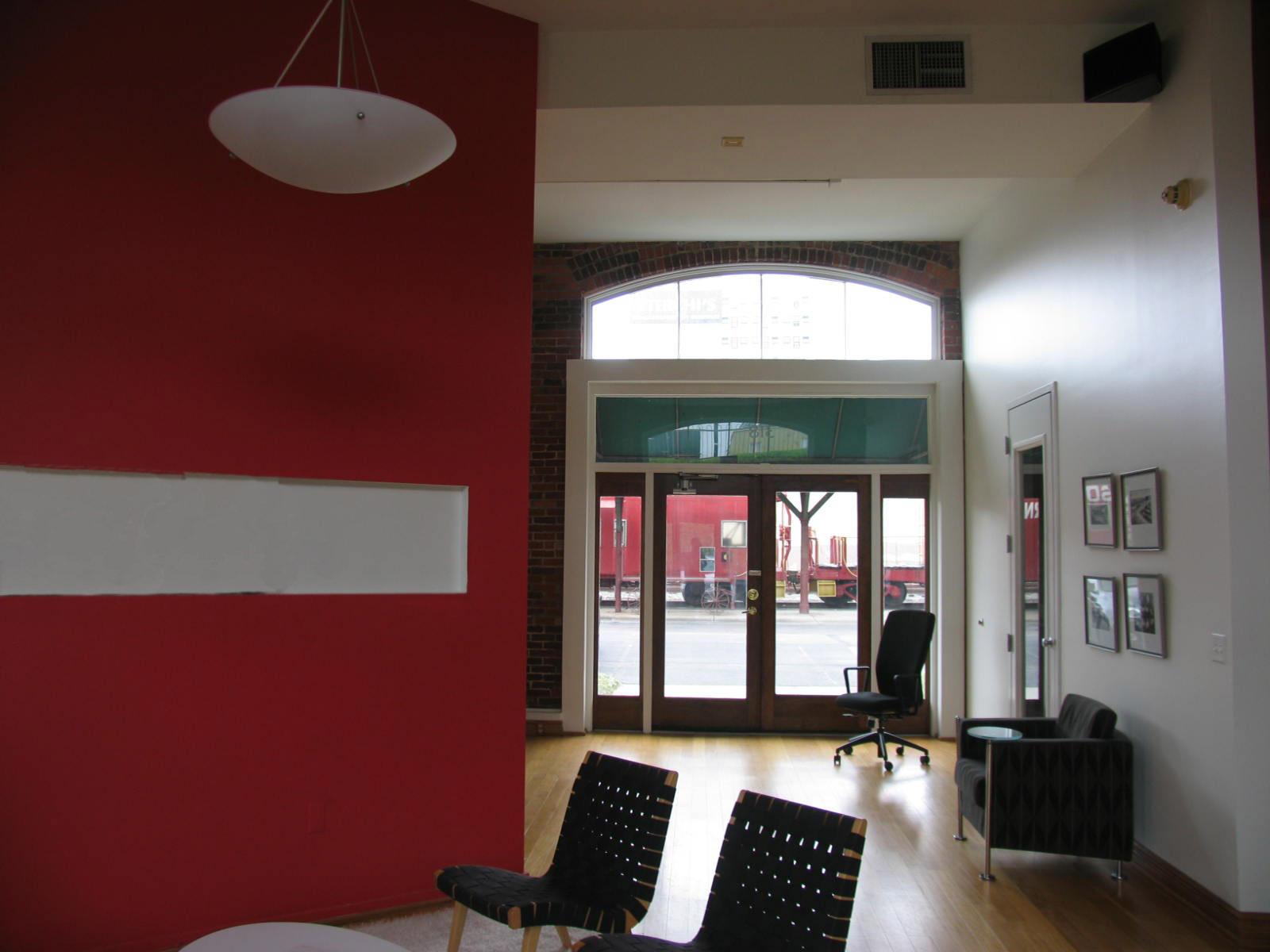 Pre-renovation.