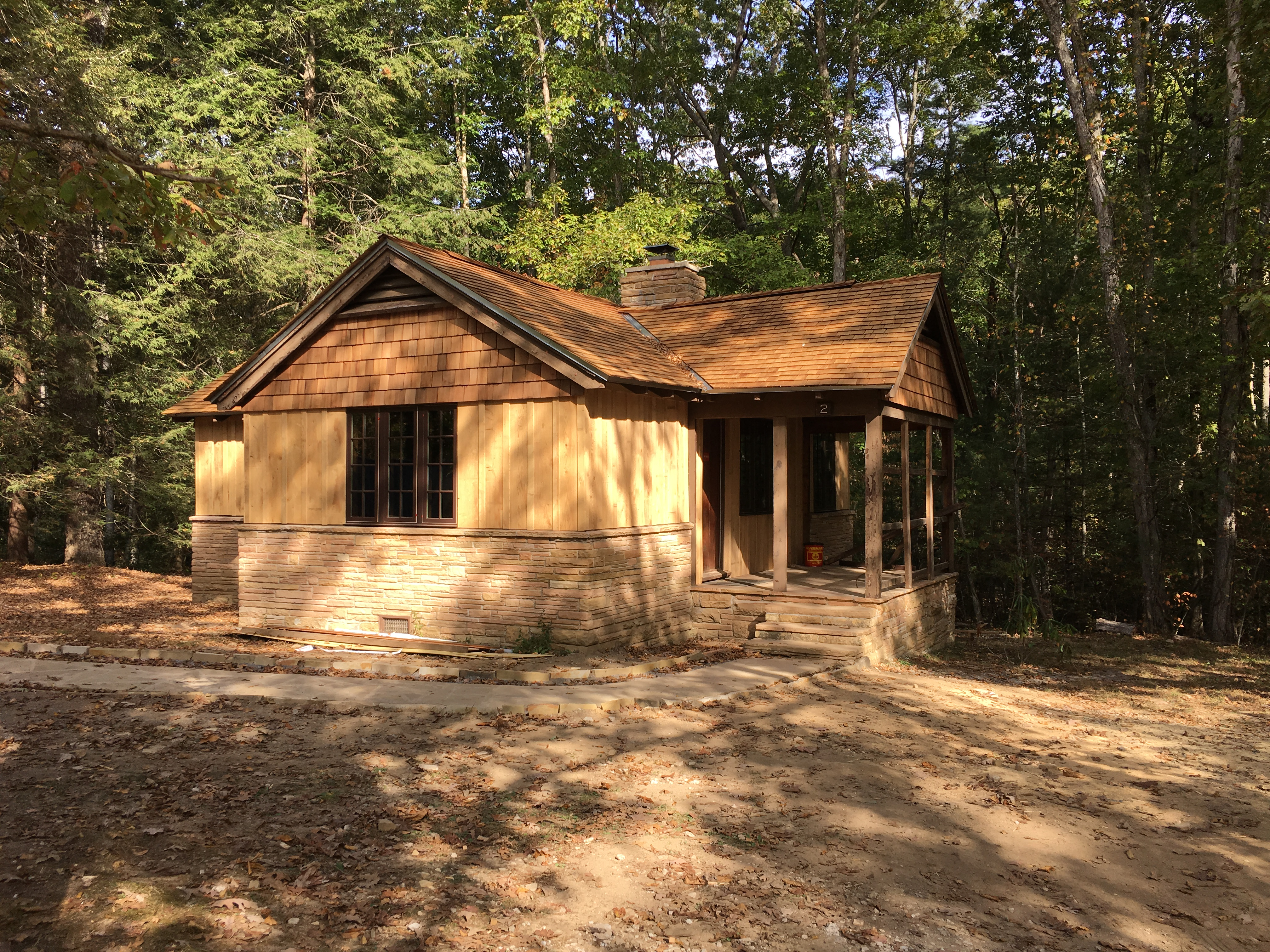 Civilian Conservation Corps Cabins